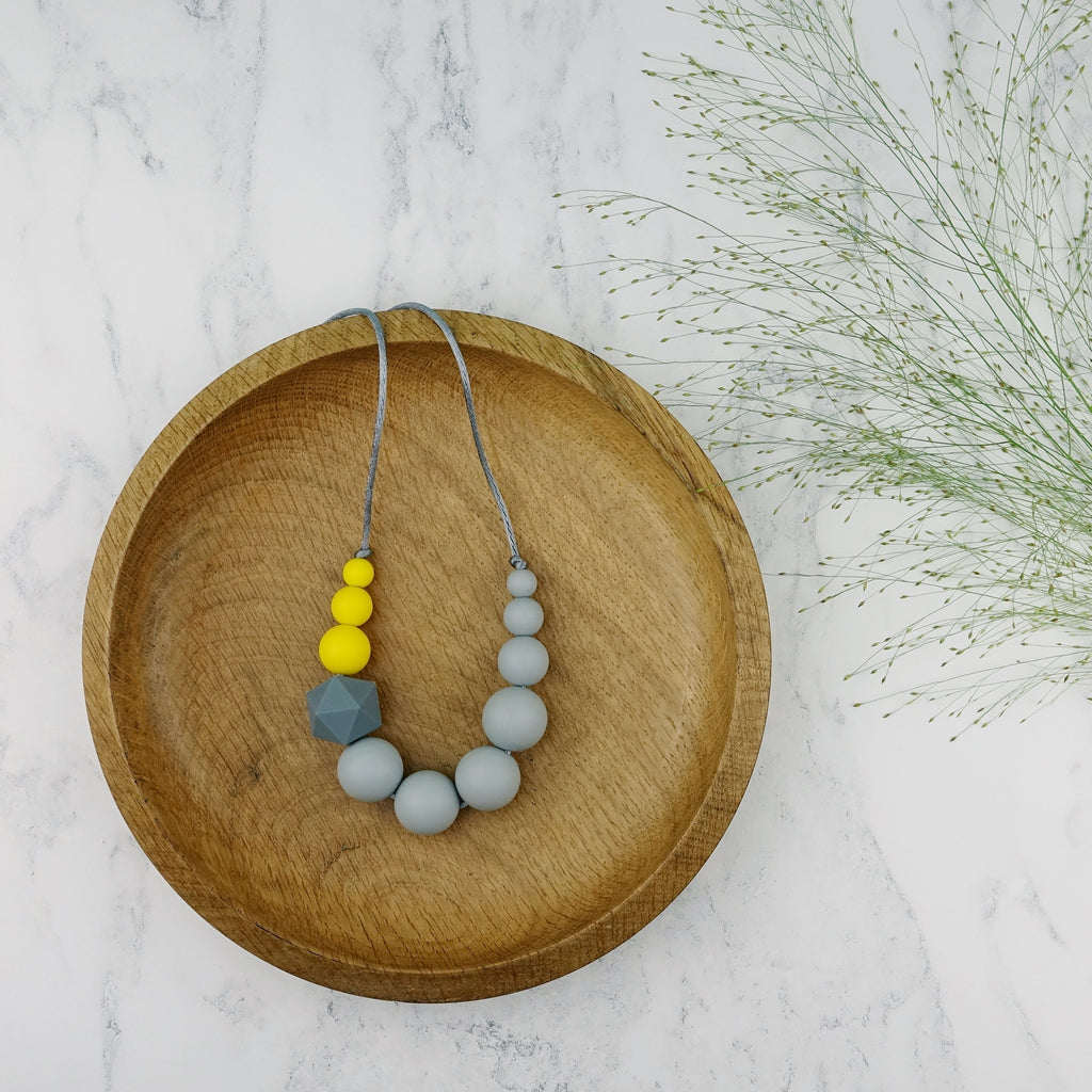 Nuthatch: Sky High Silicone Teething Necklace