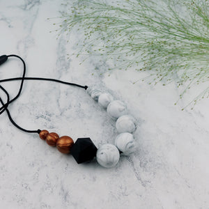 Chaffinch: Sky High Teething Necklace