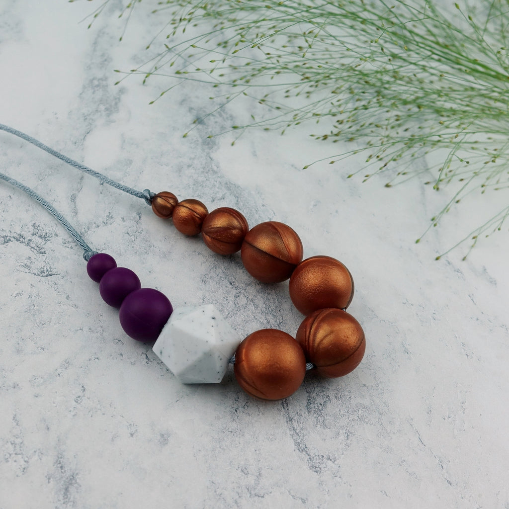 Sparrow: Sky High Teething Necklace