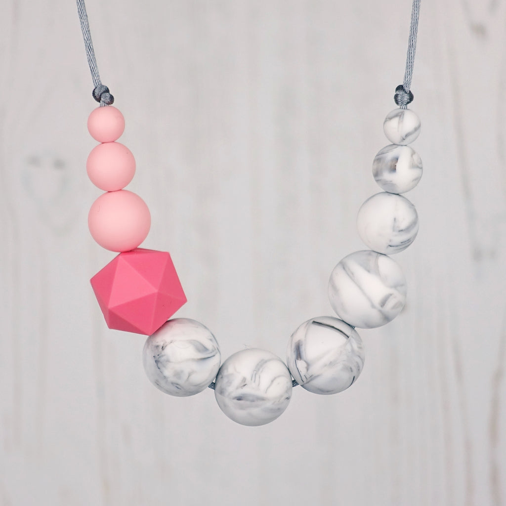Dunnock: Sky High Teething Necklace