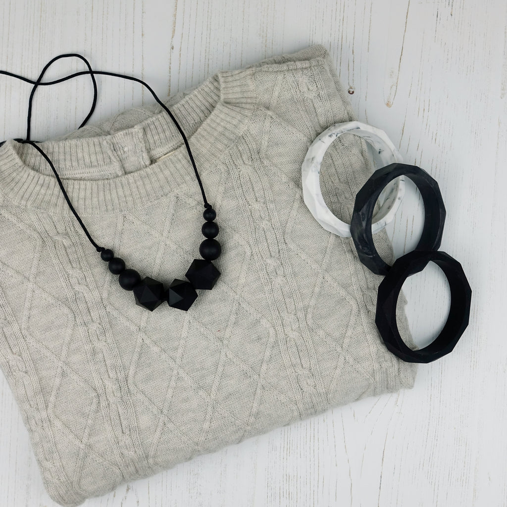 Copernicus: Stellar Teething Necklace
