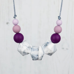 Antares: Stellar Teething Necklace - Pebbles and Lace