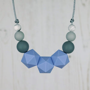 Signus: Stellar Teething Necklace - Pebbles and Lace