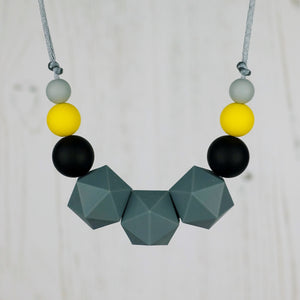 Sirius: Stellar Teething Necklace - Pebbles and Lace