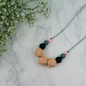 Musica: Stellar Teething Necklace - Pebbles and Lace