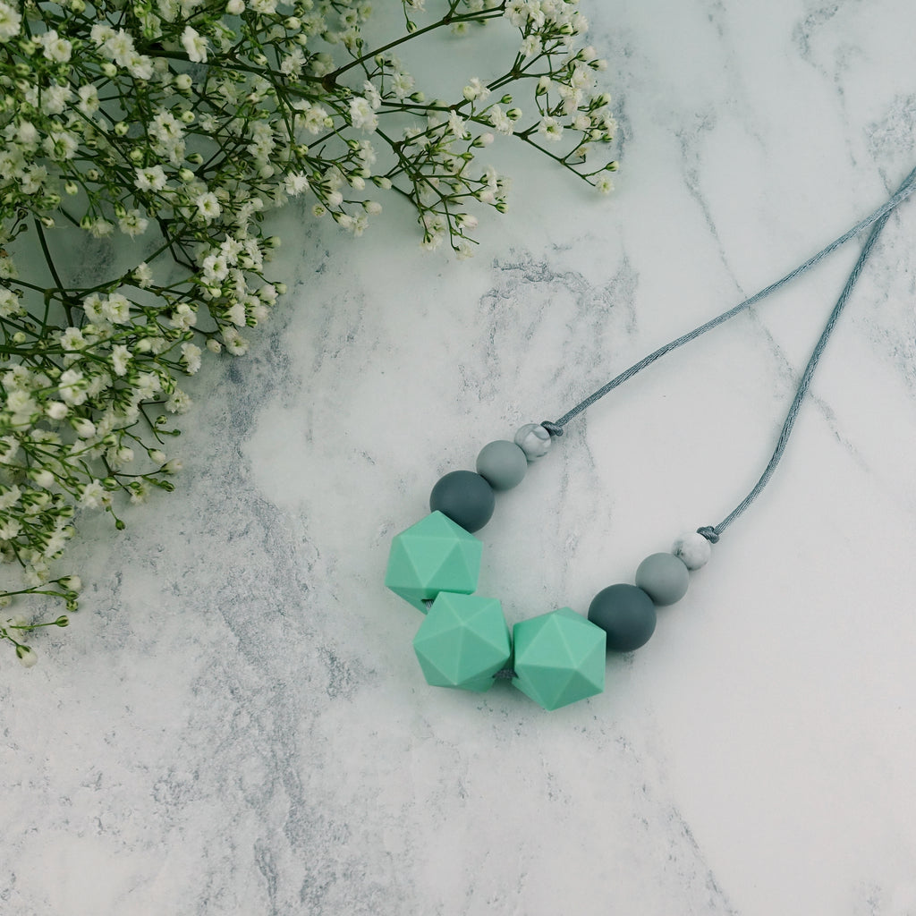 Mintaka: Stellar Teething Necklace
