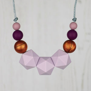 Canopus: Stellar Teething Necklace - Pebbles and Lace