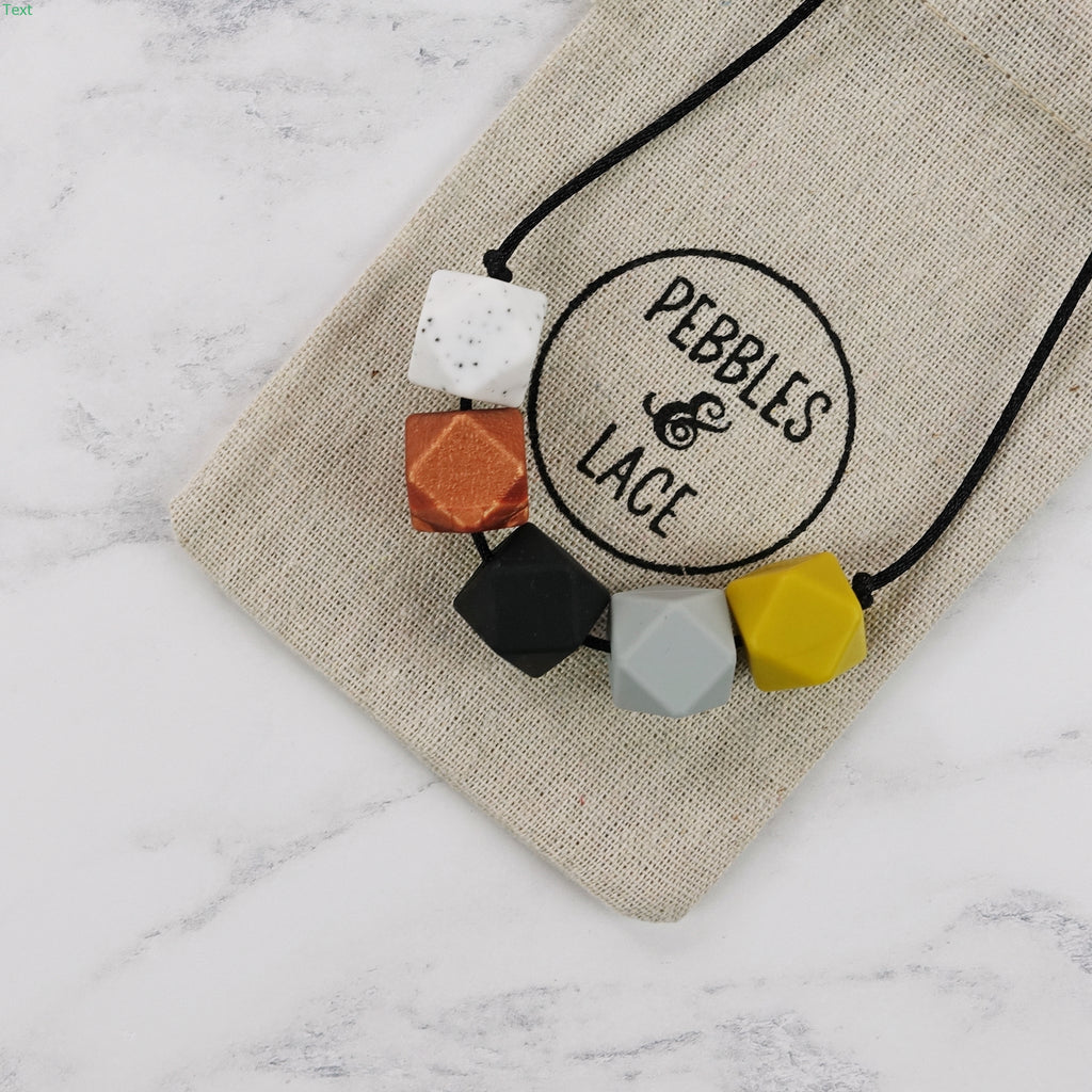 Chicago: Take Five Teething Necklace