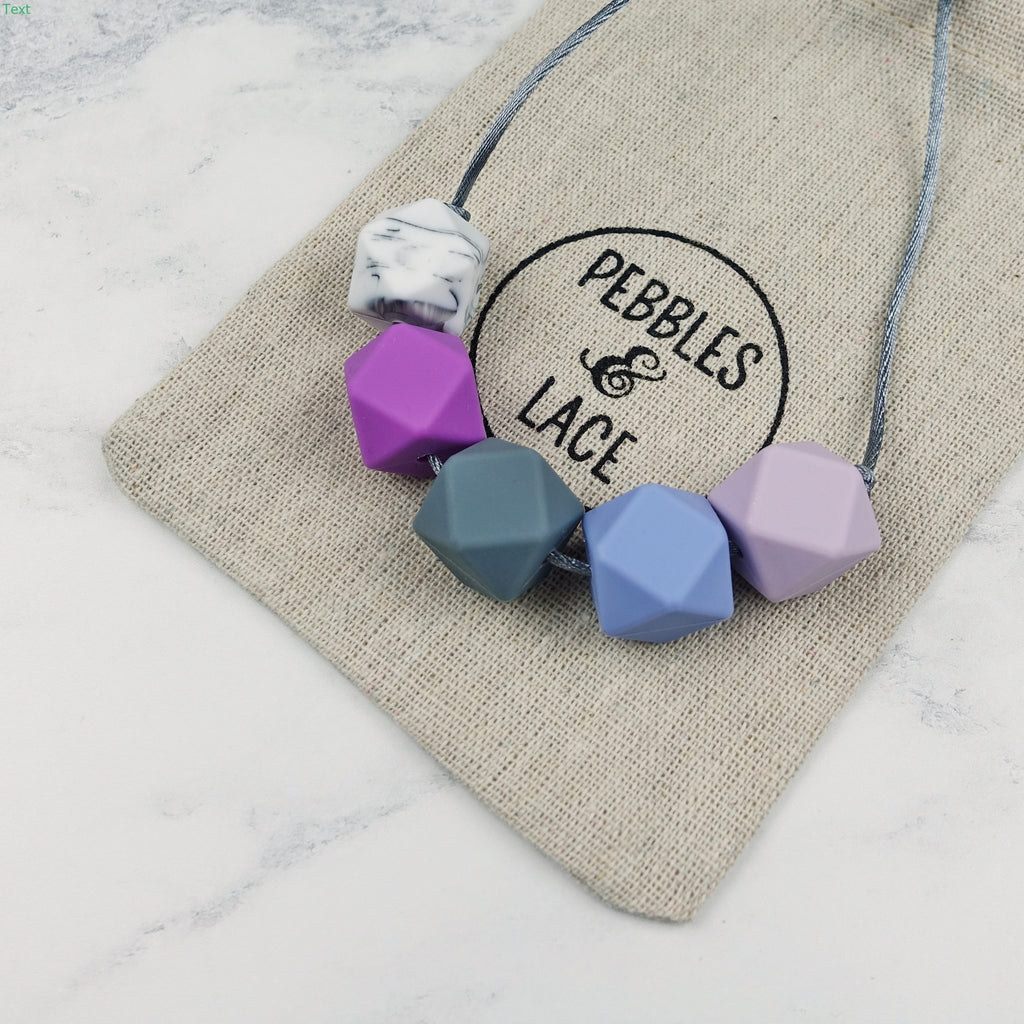 Geneva: Take Five Teething Necklace