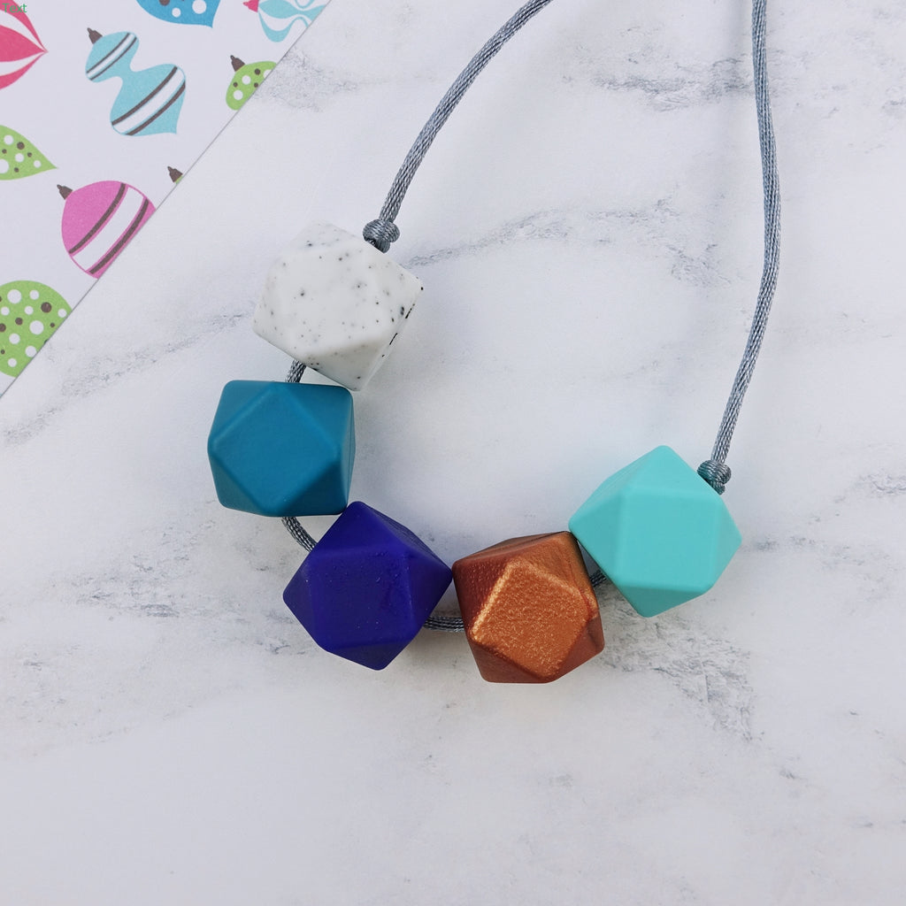 Miami: Take Five Teething Necklace
