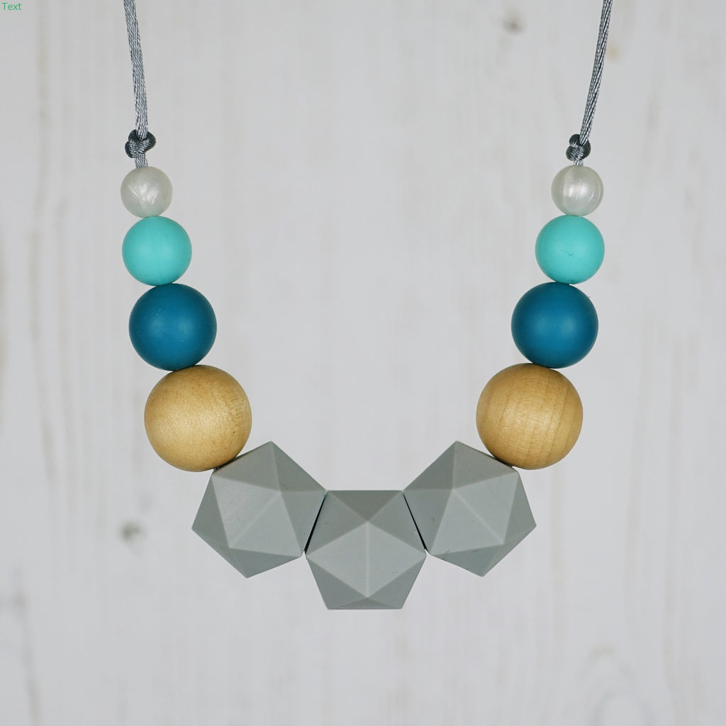 King of Hearts: Wonderland Teething Necklace