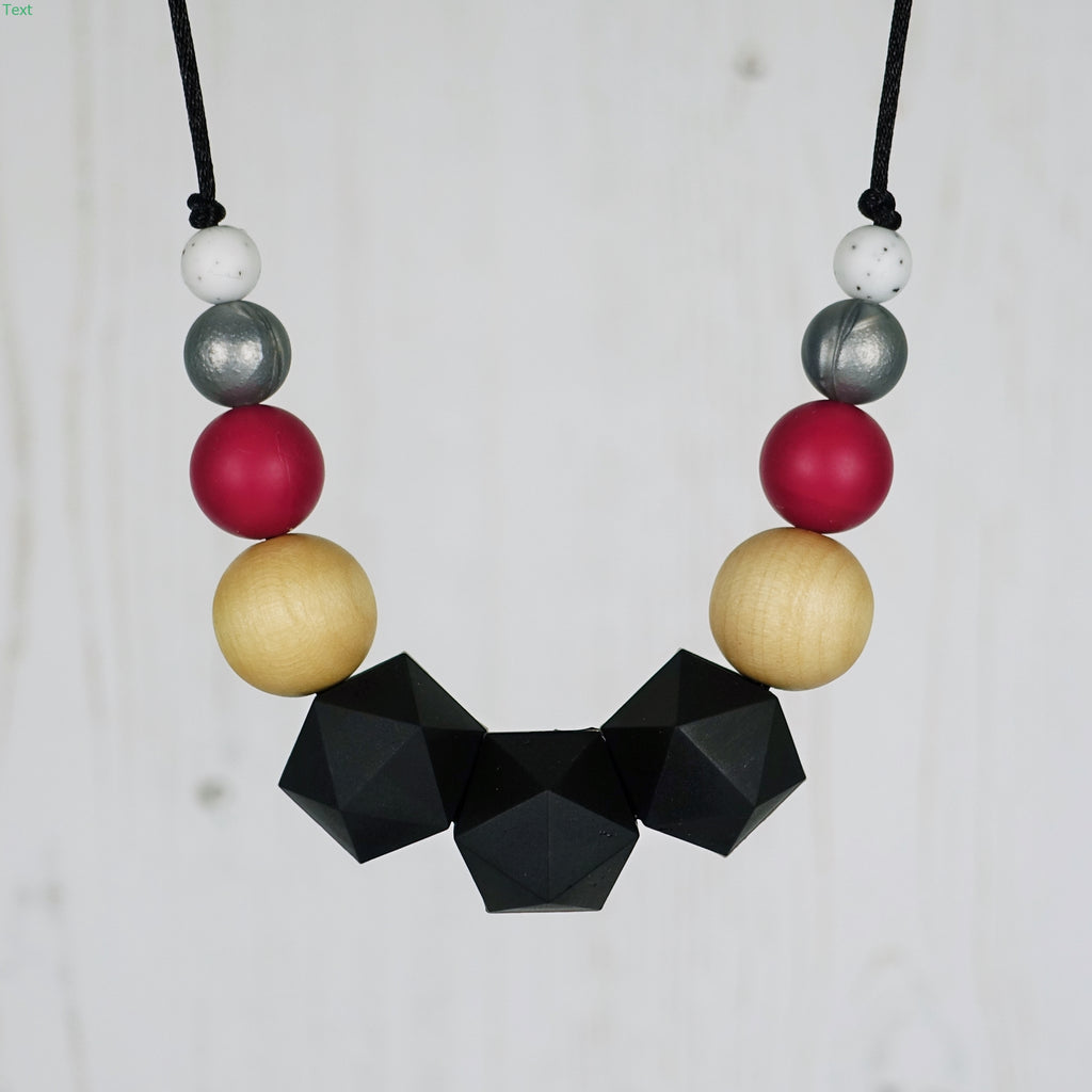 Queen of Hearts: Wonderland Teething Necklace