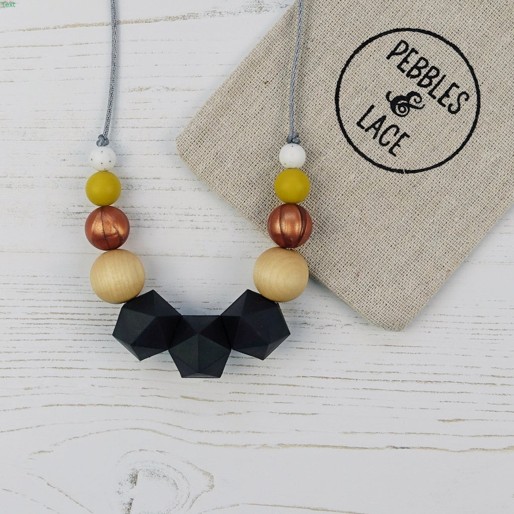 White Rabbit: Wonderland Teething Necklace
