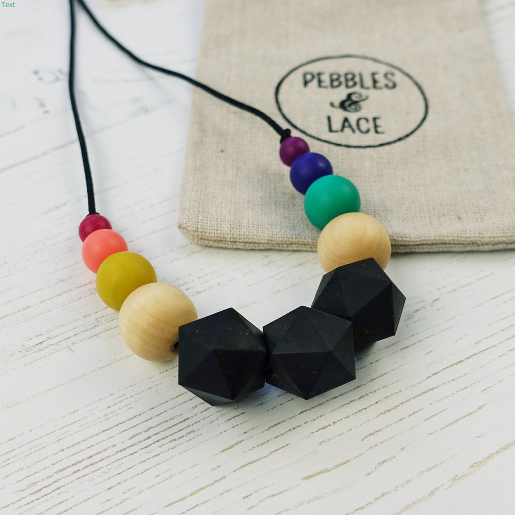 Mad Hatter: Wonderland Teething Necklace