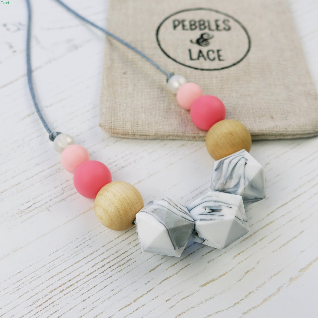 Cheshire Cat: Wonderland Teething Necklace