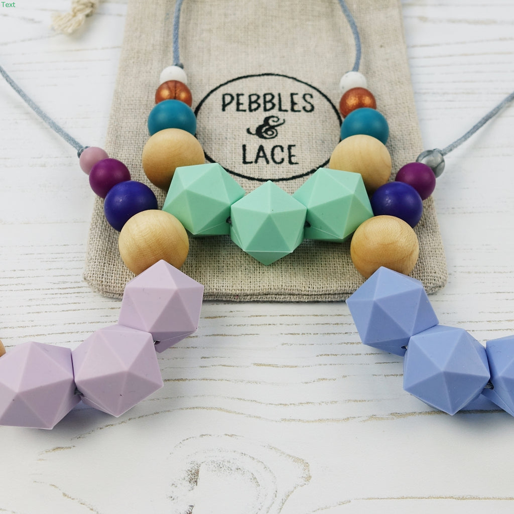 March Hare: Wonderland Teething Necklace