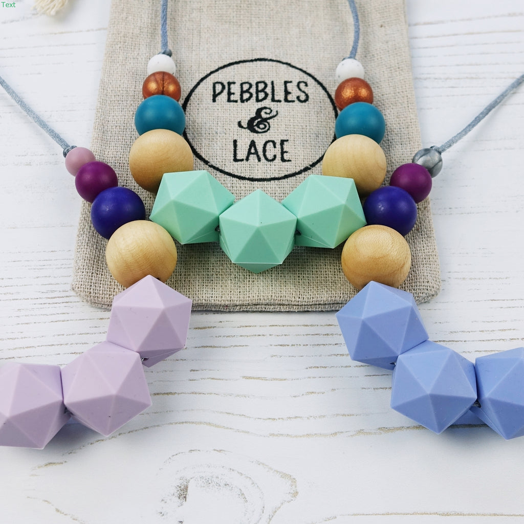 Alice: Wonderland Teething Necklace