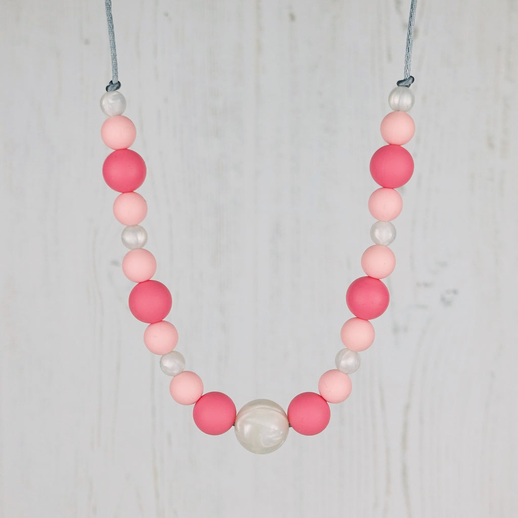 Summer Sorbet: Waves Teething Necklace
