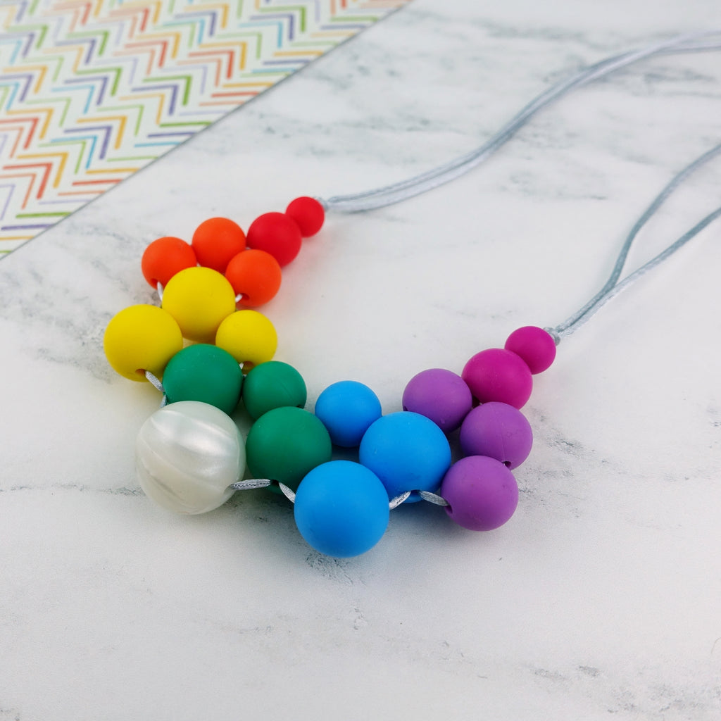 Harmony: Woven Teething Necklace