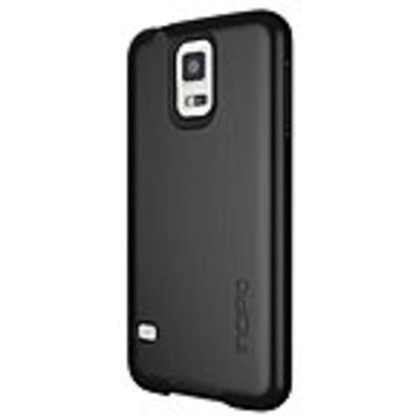 Incipio feather SHINE Ultra Thin Case with Aluminum Finish for Samsung Galaxy S5 - Smartphone - Black - Brushed Aluminum - Plextonium - Mmetr