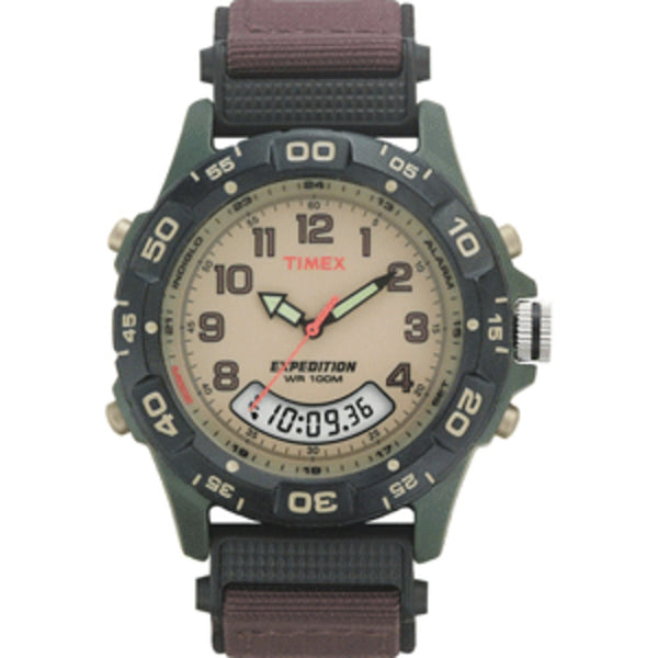 Timex Expedition Resin Combo Classic Analog Green/Black/Brown - Mmetr