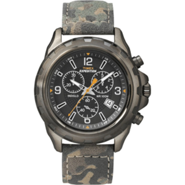 Timex Expedition Rugged Chronograph Watch - Camo/Brown - Mmetr