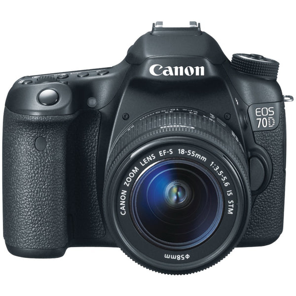 CANON 8469B016 20.2 Megapixel EOS 70D Digital SLR Camera (with 18mm-135mm IS STM Zoom) - Mmetr