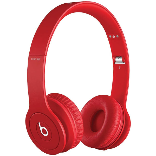 APPLE EA-MH9G2AM/A Beats Solo Drenched Headphones (Red Matte) - Mmetr