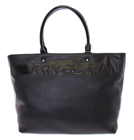 Versace Jeans Black Shopping Tote