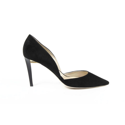 Jimmy Choo Womens Pump DARYLIN SUEDE BLACK