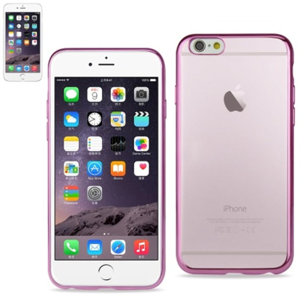 Reiko BUMPER TPU CASE FOR IPHONE 6/6S 4.7INCH SHINY PINK - Mmetr