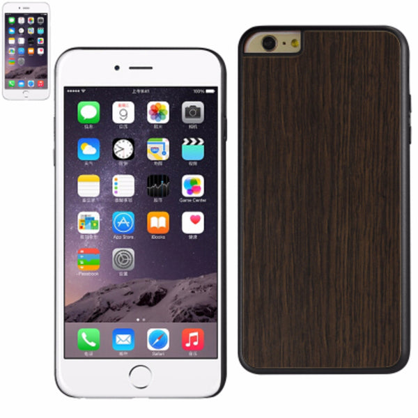 Reiko iphone6/6S Plus 5.5inch Wood Pattern and PC Hard case-Black - Mmetr