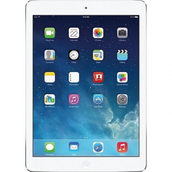 Apple Ipad Air MF529LL/A 32GB Wi-Fi + AT&T White With Silver (Grade B) - Mmetr
