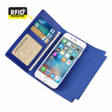 Reiko Iphone 6/ 6S 4.7Inch Genuine Leather Flip Wallet Case With Metal Buckle Belt - Mmetr
