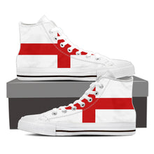 England Premium Men High Top - Express Delivery