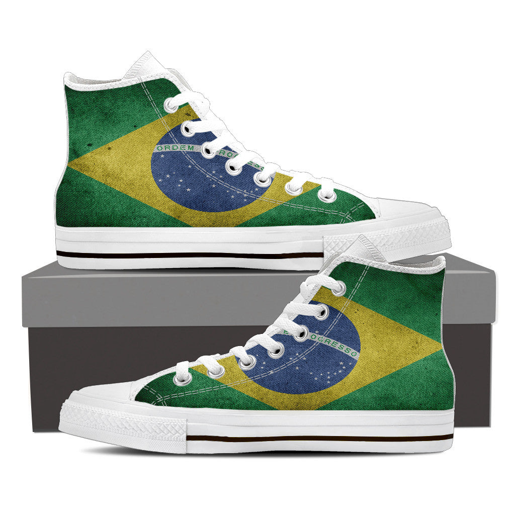 Brazil Premium Men High Top - Express Delivery