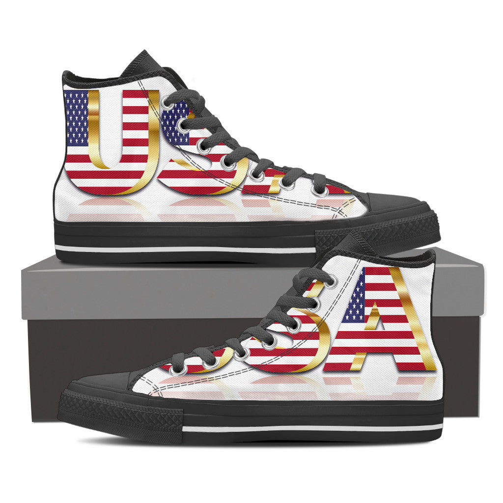 USA Premium Men High Top