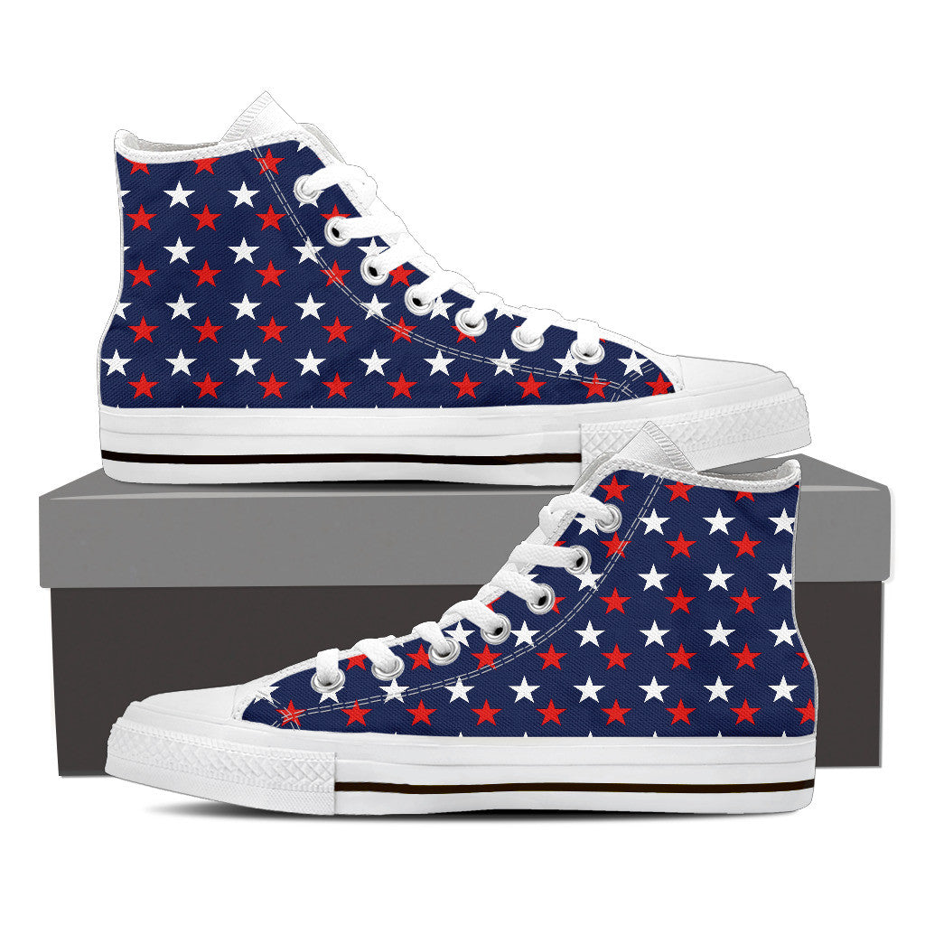 USA Stars Premium Men High Top