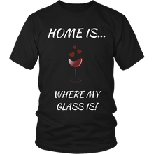 Home Is Where My Glass Is