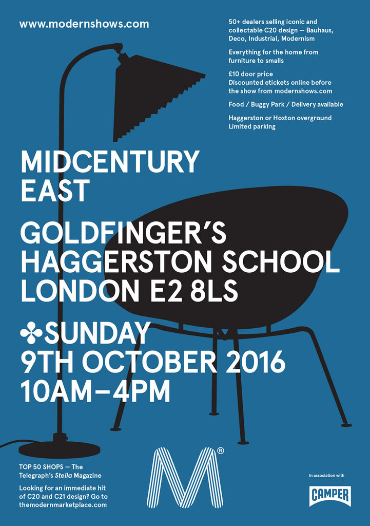 Midcentury East Show - 9th Oct
