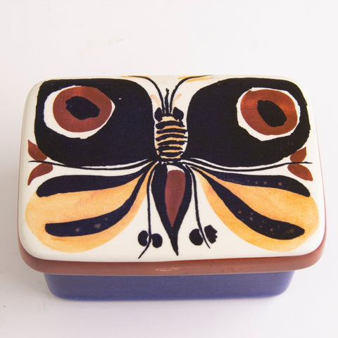 1950-70s Royal Copenhagen Fajance Trinket Box by Lise Koefoed