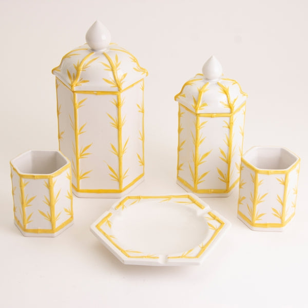 Italian 1970s 5 Piece Spode Ceramic Kitchen Set made for Harrods
