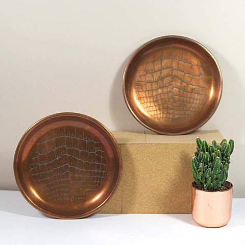 Art Noveau Copper Plates