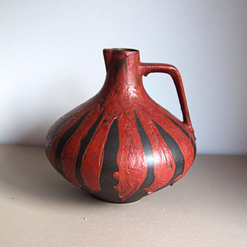 1960s Ceramano Stromboli Decor West German Ceramic