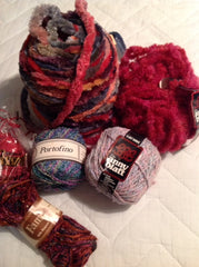 various yarns I've horded