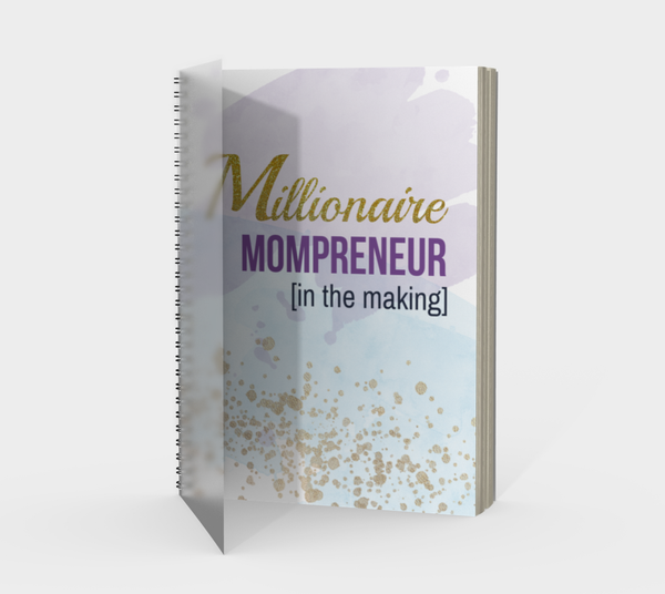 "Millionaire Mompreneur Journal (""Unstoppable"" Quote)"