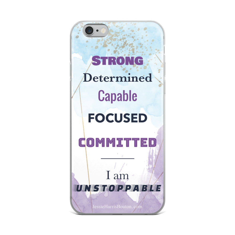 Empowering iPhone Case (6, 6S, 6S/6S Plus, 7Plus/8 Plus, 7/8, X/XS, XR, XS Max)