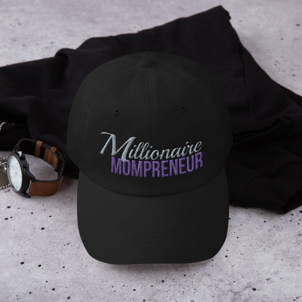 Millioniare Mompreneur Hat (Black)
