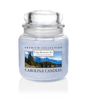 Carolina Scented Jar Candle, Crisp Mountain Air, 15 oz, Single
