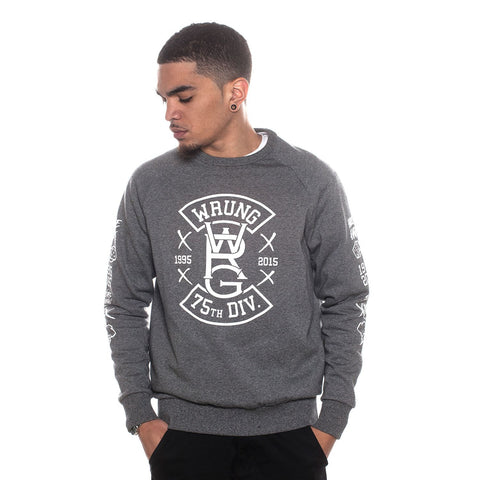 Wrung Die On Top Sweater: Heather Grey, 9Couture - 9Couture
